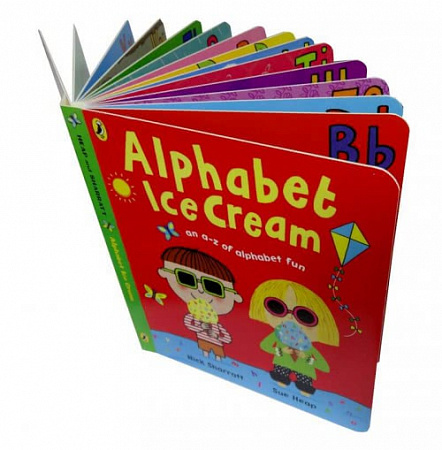 Alphabet Ice Cream
