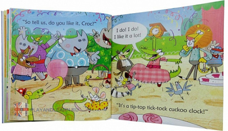 Croc gets a Shock (Phonics Readers)